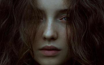 girl, portrait, look, model, hair, face, marta bevacqua, july
