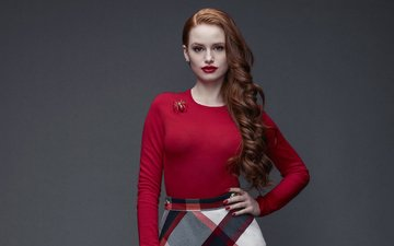 girl, look, model, hair, face, actress, madelaine petsch, madeline pets