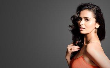 девушка, брюнетка, взгляд, волосы, лицо, актриса, индийская, минакши диксит, meenakshi dixit
