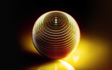 light, metal, reflection, graphics, sphere, ball, 3d