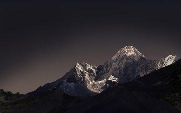 mountains, nature, landscape