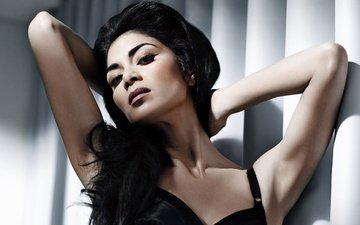girl, brunette, look, hair, face, actress, singer, makeup, nicole scherzinger