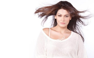 girl, look, hair, face, actress, white background, indian, payal rohatgi