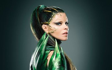 girl, fiction, look, fantasy, hair, face, makeup, movies, elizabeth banks, 2017, power rangers, rita repulsa