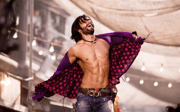 look, actor, jeans, face, beard, bollywood, ranveer singh