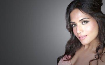 девушка, взгляд, модель, волосы, губы, лицо, актриса, макияж, болливуд, рича чадда, richa chadda