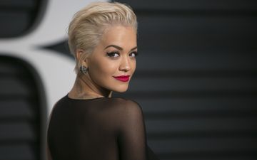 girl, blonde, look, hair, lips, face, singer, makeup, rita ora
