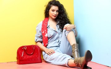 girl, brunette, look, hair, face, actress, indian, sukirti kandpal