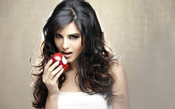girl, look, model, face, actress, apple, sunny leone, indian