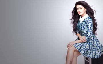 girl, dress, look, model, hair, face, actress, taapsee pannu, taapsi lady