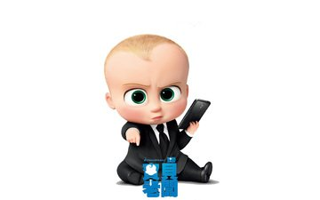 cartoon, the boss is a sucker, the boss baby
