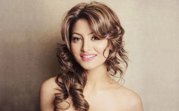 eyes, girl, smile, model, hair, lips, face, actress, celebrity, bollywood, indian, urvashi rautela, urvashi has rautela