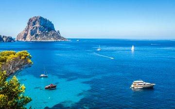 sea, yachts, islands, 4