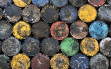 metal, background, color, barrels
