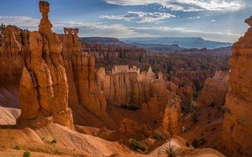 горы, скалы, каньон, сша, ущелье, юта, брайс-каньон