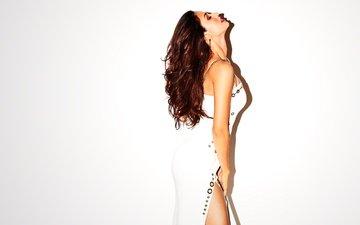 девушка, поза, модель, волосы, лицо, актриса, макияж, фигура, болливуд, диша патани