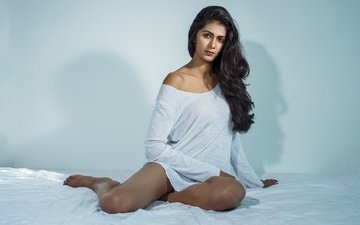 девушка, поза, брюнетка, модель, лицо, актриса, макияж, болливуд, manisha jain, маниша джейн