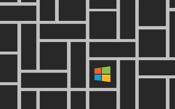 логотип, ос, операционная система, винда