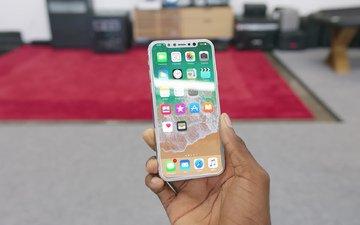 стеклянный, iphone 8, iphone x, новый айфон, последний айфон