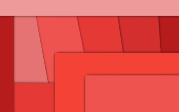 line, red, material, geometry