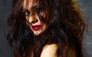 girl, model, hair, lips, face, actress, makeup, celebrity, bollywood, lopamudra lahiri