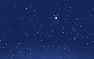 the sky, vector, stars, graphics
