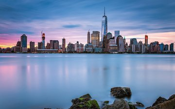 view, panorama, the city, megapolis, usa, new york, manhattan, kirit prajapati