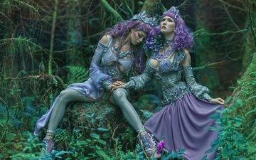 лес, девушки, креатив, джунгли, феи, agnieszka lorek, мифология, a m lorek, офелия
