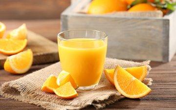 апельсины, цитрусы, апельсиновый сок, сок, мешковина
