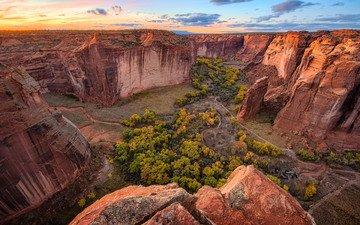 небо, облака, скалы, природа, пейзаж, каньон, michael wilson
