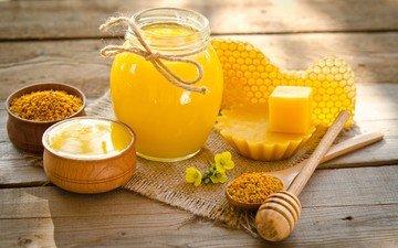 соты, мед, лакомство