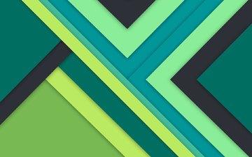 полосы, абстракция, материал, треугольники