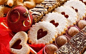 новый год, шары, конфеты, праздник, рождество, сладкое, печенье, выпечка, десерт, d+m=dõst, d+m=dõst ular dõst bõlsa dushman kelmasin hech. bir yurak bõlib yashashsin kõp!!!