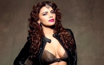 eyes, girl, model, hair, lips, face, makeup, sherlyn chopra, sherlin chopra