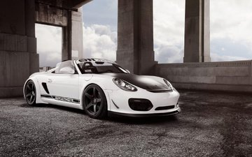 авто, порше, автообои, forgestar wheels, porsche boxster spyder, 1013mm