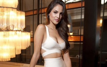 girl, brunette, look, hair, face, actress, eiza gonzalez, ace gonzalez