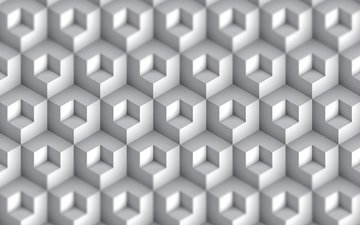 design, pattern, geometry, render, 3d