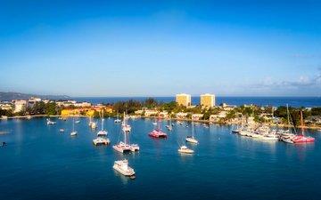 sea, jamaica, montego bay