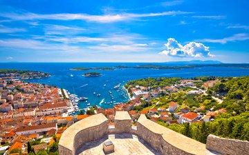 море, город, хорватия