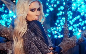 pose, blonde, look, hair, face, actress, singer, paris hilton