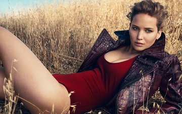 pose, look, ass, chest, legs, actress, clothing, big tits, thighs, jennifer lawrence, the hunger games