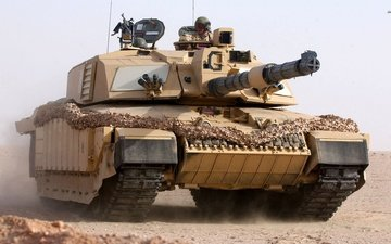 england, main, battle tank, challenger 2