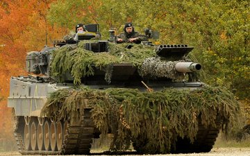 germany, main, battle tank, leopard 2a6