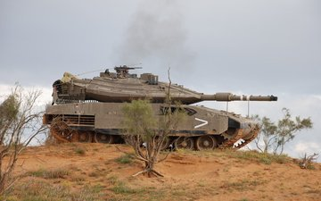 israel, main, battle tank, merkava mk4