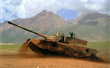 china, kampfpanzer, grundlegende schwere, typ 99