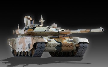 russia, t-90ms, main, battle tank