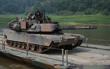 usa, main, battle tank, m1a2 abram
