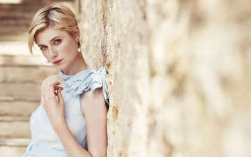 girl, dress, look, hair, face, actress, elizabeth debicki