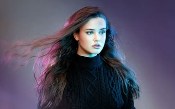 girl, look, hair, face, actress, long hair, katherine langford, catherine langford