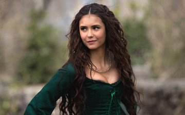girl, look, hair, face, actress, the vampire diaries, nina dobrev, katherine pierce